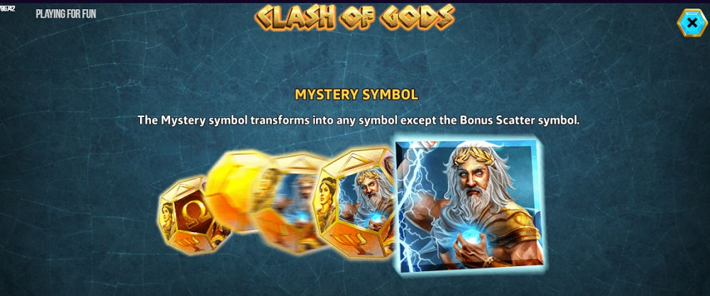 Игровой автомат Clash of Gods